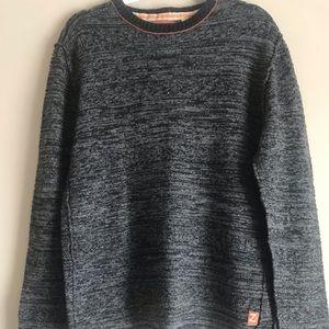 ZENFARI Men's Sweater BLACK Size Medium